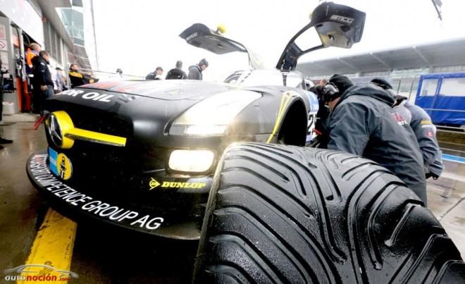 Dunlop lleva neumáticos para lluvia a Le Mans