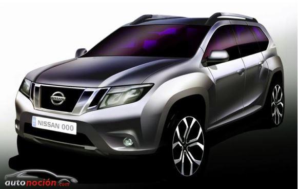 Primer teaser de la nueva generación del Nissan Terrano
