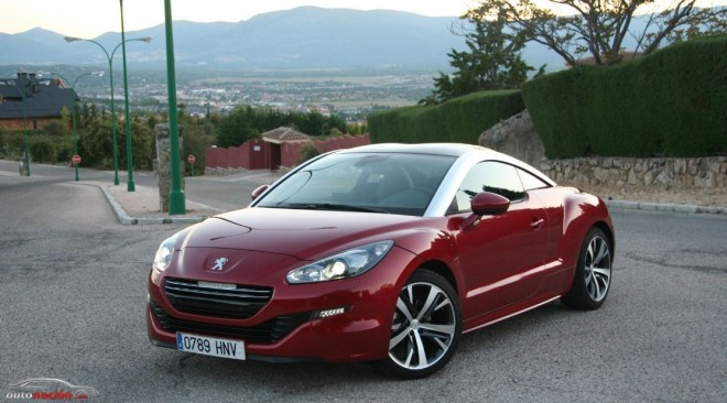 prueba peugeot rcz 1 6 thp 155cv opini n y precio. Black Bedroom Furniture Sets. Home Design Ideas