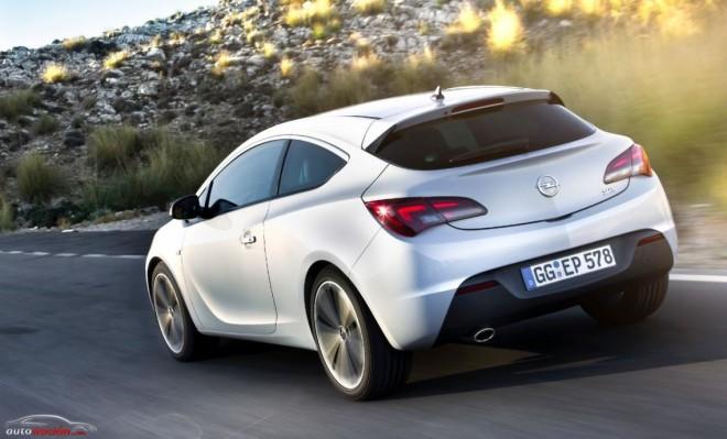 Opel introduce el 1.6 Turbo de 170 cv en el Astra GTC