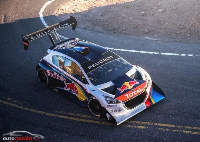Peugeot Sport ya se está acostumbrando a las curvas del Pikes Peak