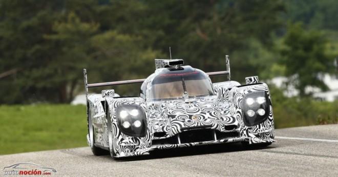 El nuevo prototipo Porsche LMP1 ya rueda por Weissach