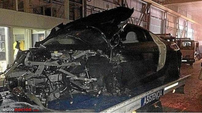 Así quedó el coche de Alexis Sánchez tras su brutal accidente