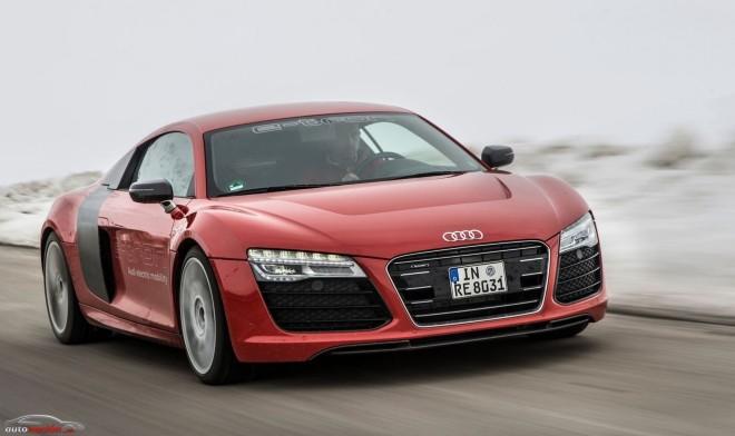 El Audi R8 e-tron verá la luz y su autonomía será superior a los 400 km