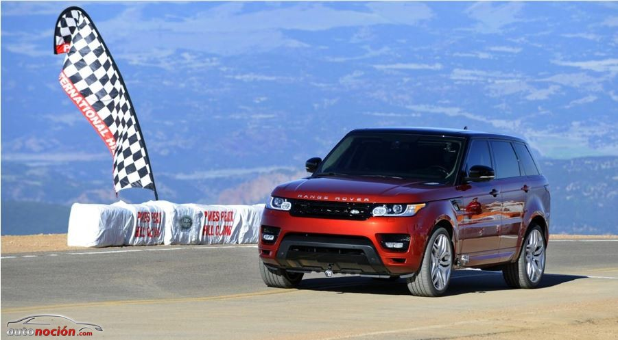 El Range Rover Sport es el modelo de producción más rápido en Pikes Peak