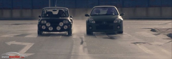 Renault Twin Run R5 Turbo Clio V6