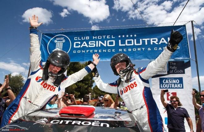 Primera victoria para Kubica en el Rally de Grecia: Sexto en la clasificación general habiendo participado en dos rallys