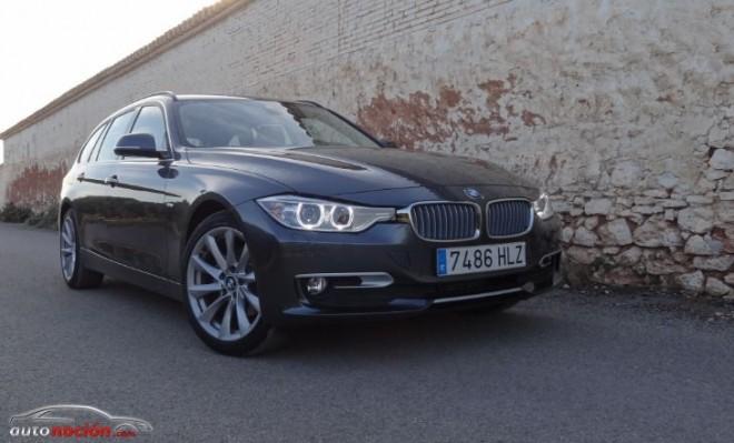 Prueba del nuevo BMW 320d Touring: Polivalencia y deportividad para los más exigentes