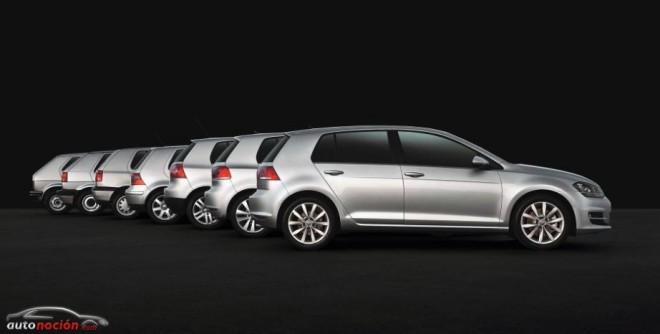 La evolución del Volkswagen Golf