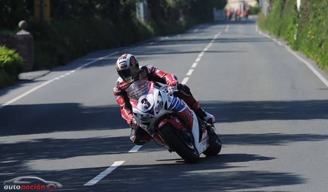 Honda fue la marca dominante en el TT de la Isla de Man