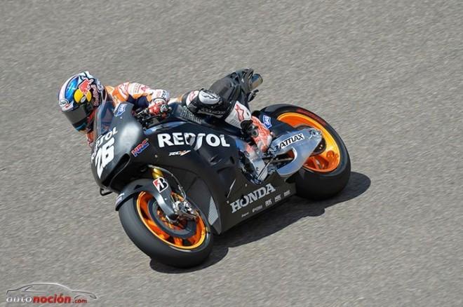 Positiva jornada de pruebas para el equipo Repsol Honda