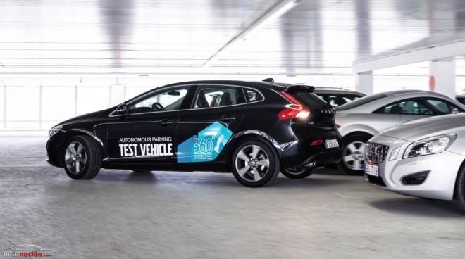 Bájate del coche y olvídate de aparcar: Así funciona el Autonomous Parking de Volvo