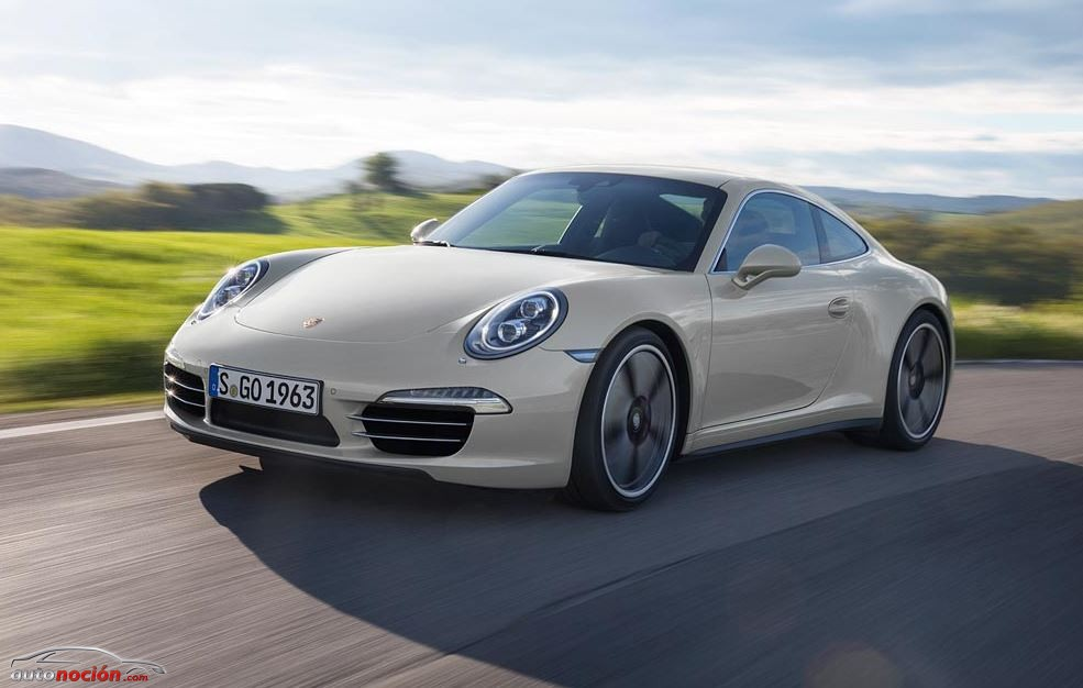 The new Porsche 911 50º years