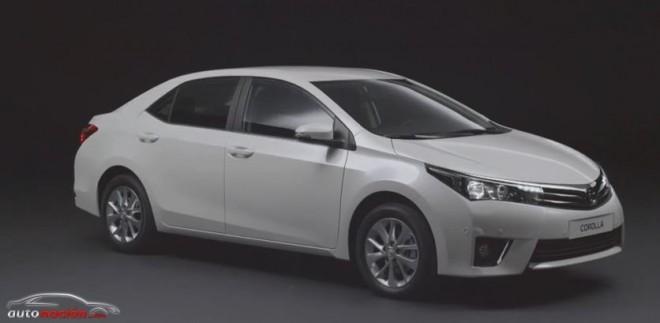 Así es el nuevo Toyota Corolla 2014 para Europa