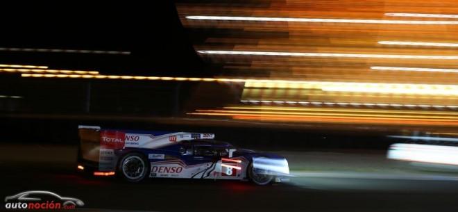 El Toyota TS030 HYBRID iguala el mejor resultado de Toyota en Le Mans de 1999