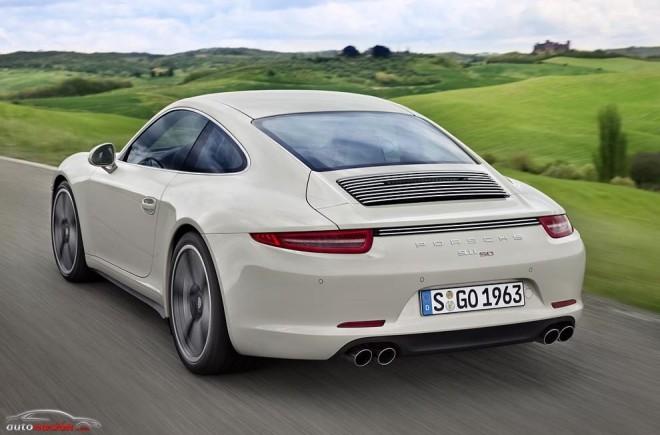 Stuttgart celebra los 50 años del 911 con un modelo exclusivo: Porsche 911 50º aniversario