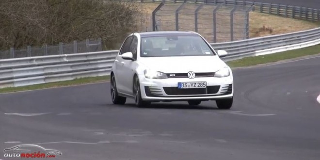 El Volkswagen Golf GTi rueda como un misil en el Infierno Verde