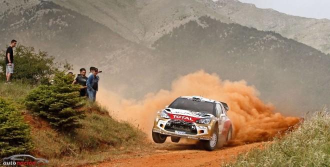 Segundo día en el Rally Acrópolis: Largo y duro para la mecánica