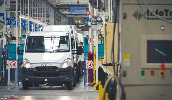La planta de Iveco en Valladolid se sitúa como la primera de las 64 de Fiat industrial en todo el mundo