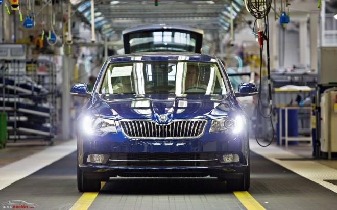 Arranca la producción del nuevo Skoda Superb en Kvasiny