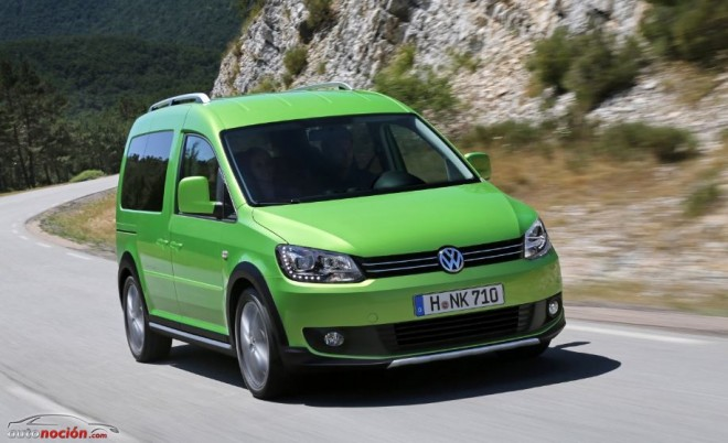 Nueva Volkswagen Cross Caddy: El look más off-road