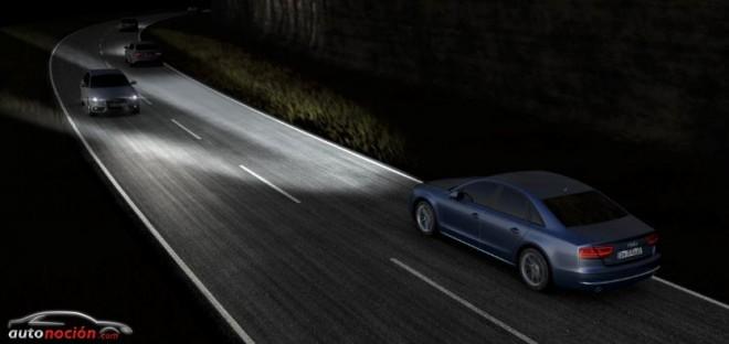 El nuevo Audi A8 lucirá los faros Matrix LED