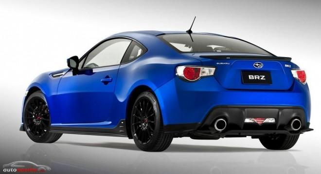 Nuevo Kit deportivo STI para el Subaru BRZ