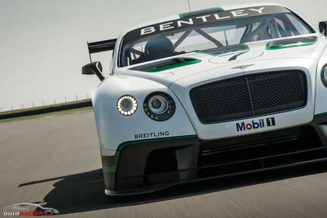 El Bentley Continental GT3 se presentará hoy en sociedad