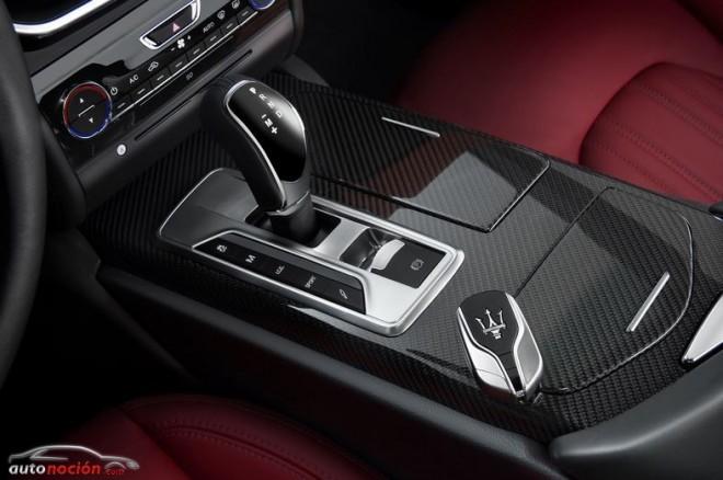 El Maserati Ghibli equipa un cambio automático de 8 velocidades ZF AT8 – HP70