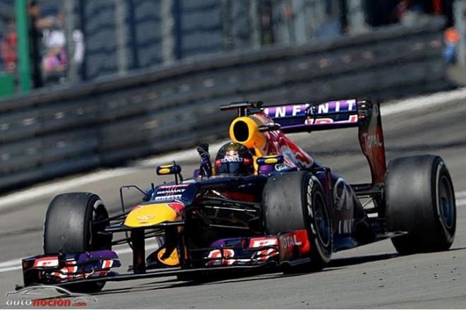 F1: Primera victoria de Vettel en casa