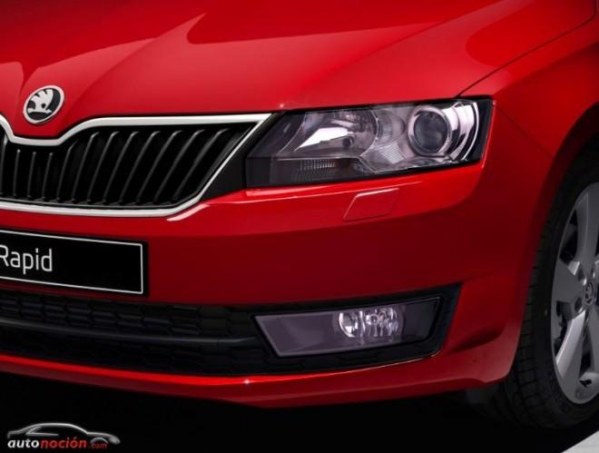 El Škoda Rapid será más atractivo a partir de Septiembre