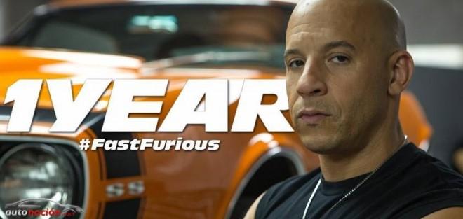 ¡Fast & Furious 7 para dentro de un año!