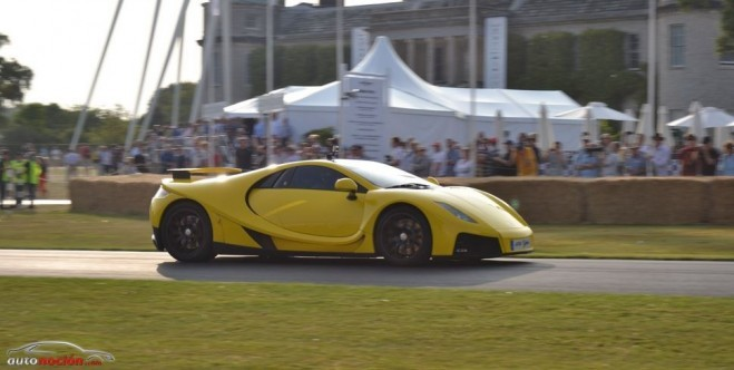 GTA Spano, también presente en el Goodwood Festival of Speed