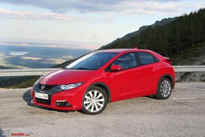 Prueba del Honda Civic 1.6 i.DTEC: Promete y cumple
