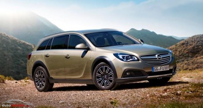 Opel presenta el Insignia más aventurero: Insignia Country Tourer