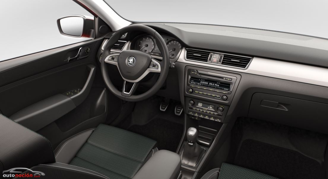 Interior Skoda Rapid Spaceback