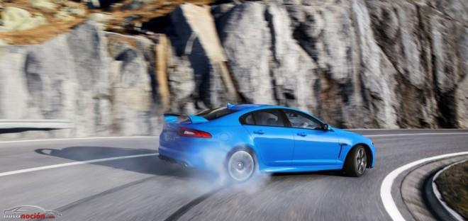 Así es el V8 de 5.0 litros sobrealimentado del Jaguar XFR-S