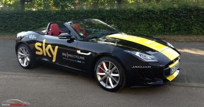 El ganador del Tour de Francia recibe como regalo un Jaguar F-TYPE