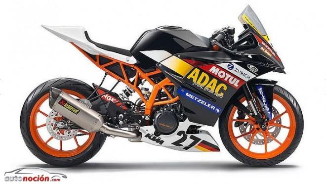 KTM presenta la RC 390 Cup