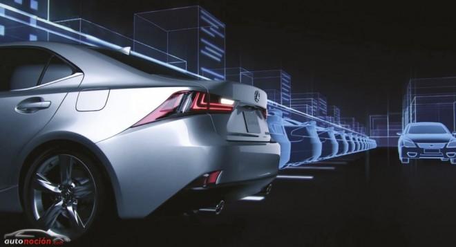 La seguridad del Lexus IS 300h al detalle