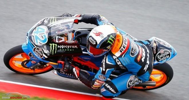 Moto3: Rins frena la racha de Salom en Sachsenring