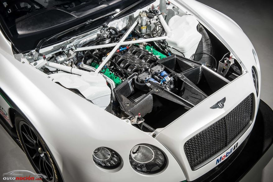 Motor Bentley Continental GT3