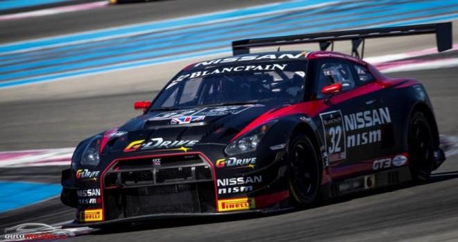Nissan se gana el podio en Paul Ricard