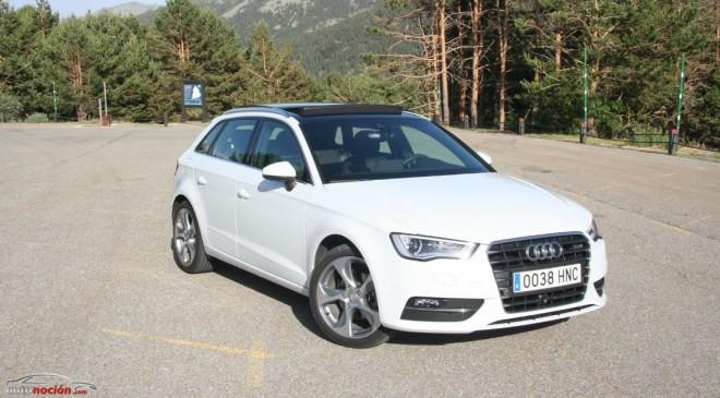Prueba del nuevo Audi A3 Sportback: Garantía de éxito