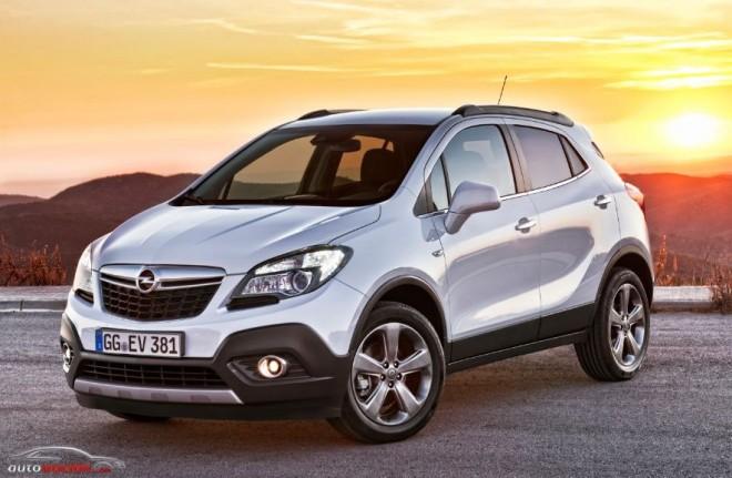 La producción del Opel Mokka vendrá a parar a Zaragoza