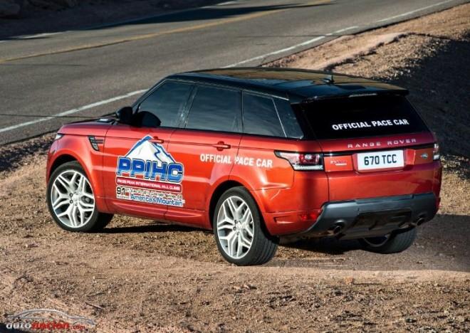 El nuevo Range Rover Sport como Pace Car en el Pikes Peak