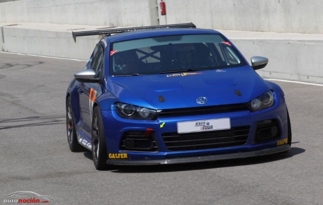 Si eres bueno en la Race Tour podrás copilotar el Scirocco GT24