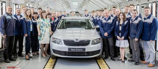 Škoda inicia la producción del nuevo Octavia en Ucrania y Kazajistán