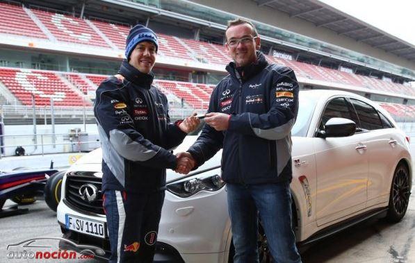 El primer Infiniti FX Vettel Edition ya tiene dueño, Sebastian Vettlel