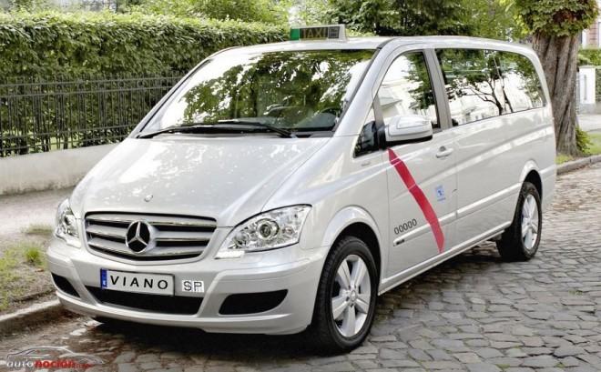 La Viano homologada para taxi